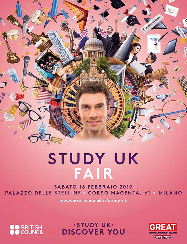 Trinity ViaggiStudio British Council Study UK Fair