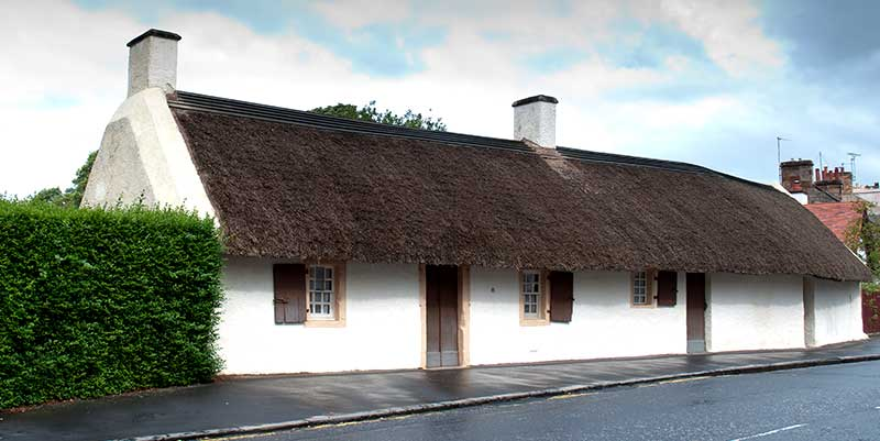 Burns Cottage Scozia