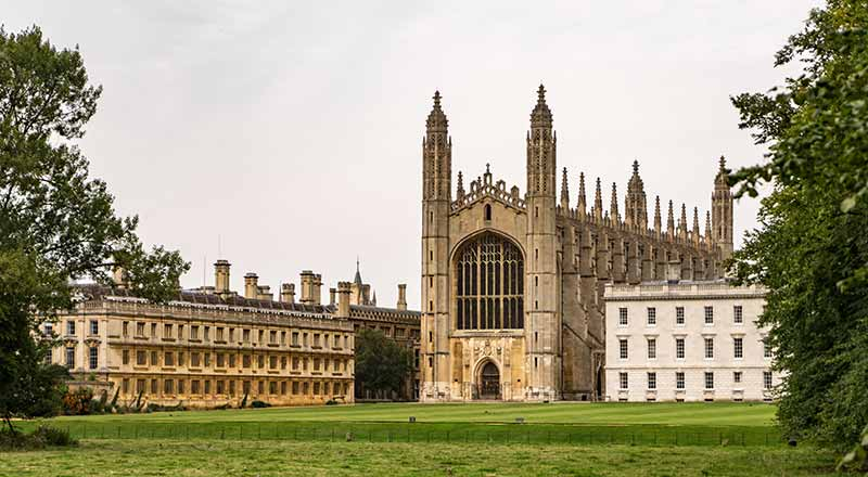 Cambridge Kings College Di Londra