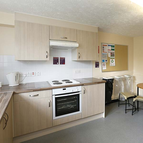 Colchester University Of Essex Flat Kitchen