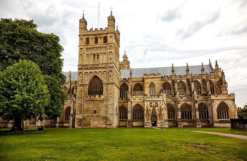 Exeter Cattedrale Inghilterra
