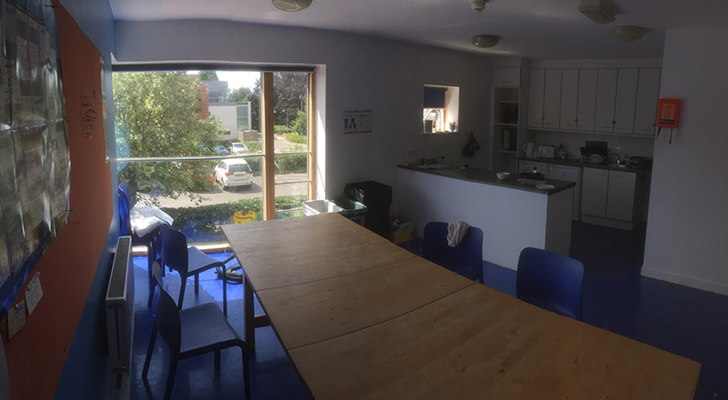 Glaucester Accommodation Common Room