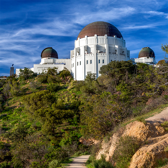 Holliwood e griffith Park Observatory Los Angeles