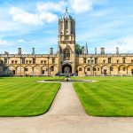 Oxford Christ Church College Inghilterra