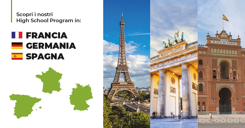 Trinity ViaggiStudio High School Program Francia Germania Spagna