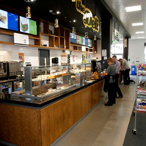 University Of The West Of Scotland Paisley Campus Canteen Area