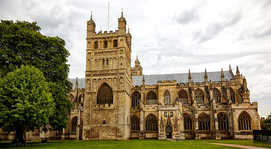 Exeter cattedrale UK