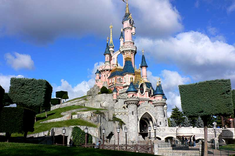 Francia Parigi Sleeping Beauty Castle Disneyland Paris