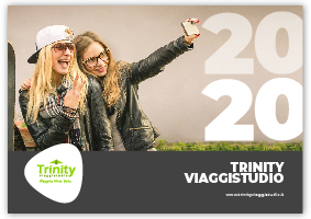 TRINITY VIAGGISTUDIO Copertina Catalogo Corporate 2020