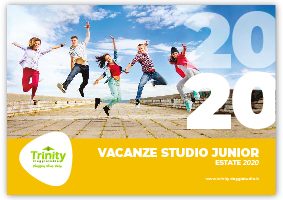 TRINITY VIAGGISTUDIO Copertina Catalogo Estate Junior 2020