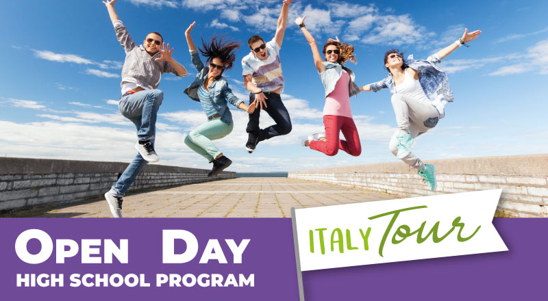 TRINITY VIAGGISTUDIO Open Day High School Program Italy Tour