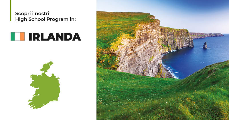 Trinity ViaggiStudio High School Program Irlanda