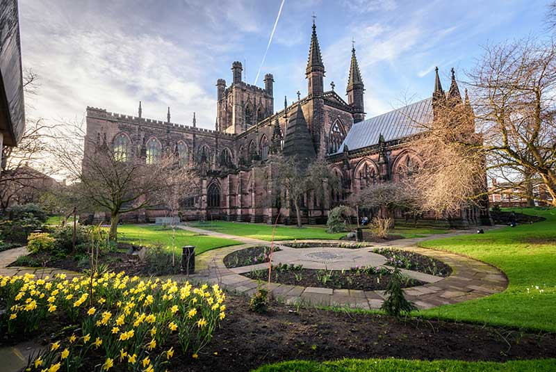 cattedrale a Chester in inghliterra
