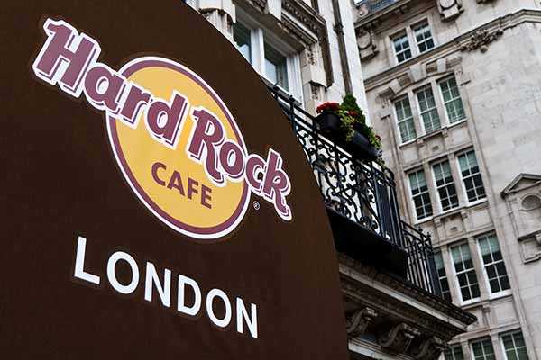 Londra Hard Rock Cafe in Old Park Lane